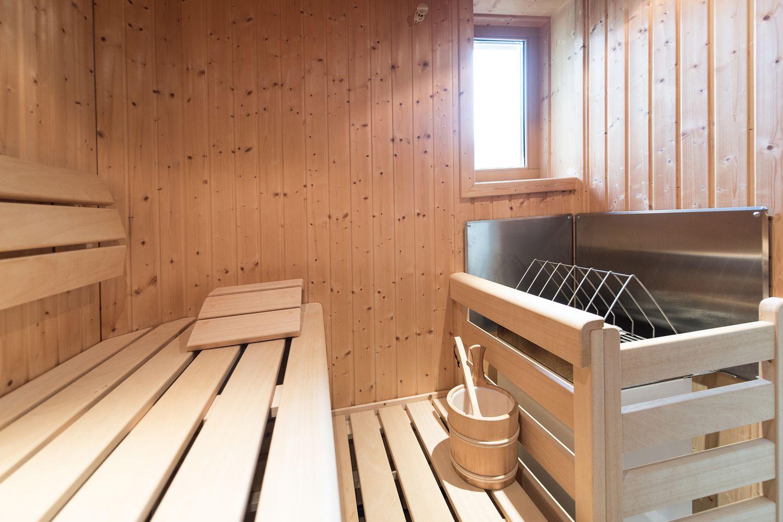 finnische Sauna in der Wellnesssuite