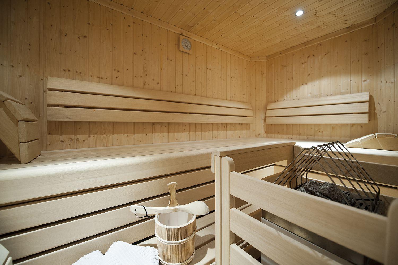 finnische Sauna in der Familiensuite